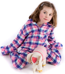 Brushed cotton pyjamas for girls