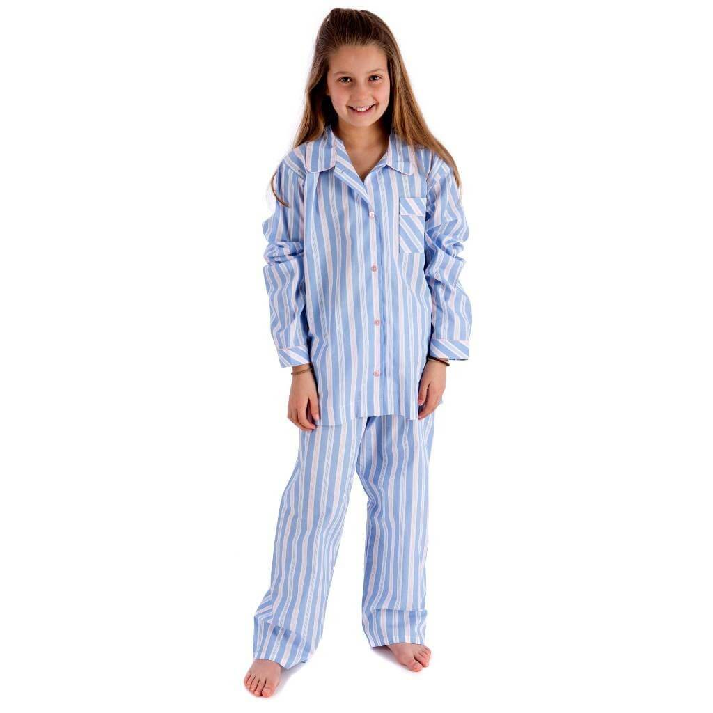 Girls Traditional Cotton Pyjamas The Pyjama House