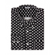 Relco - Black & White Polka - Shirt
