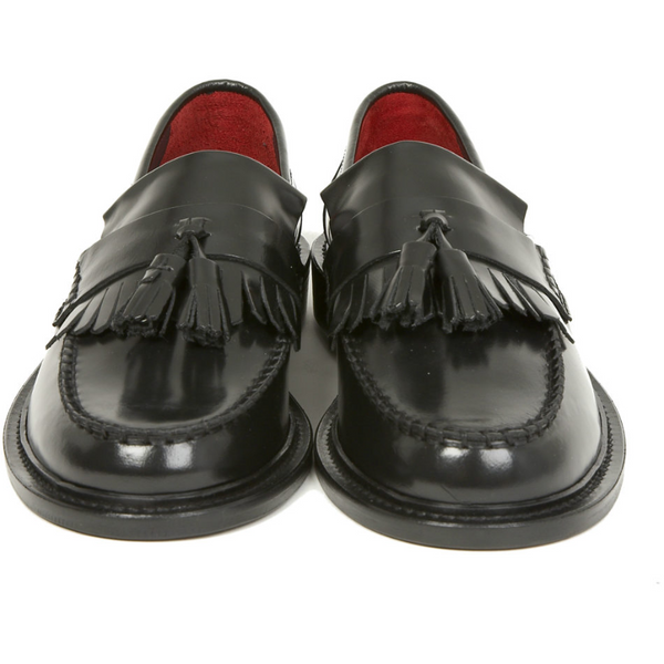 Delicious Junction - Black Rudeboy - Tassel Loafer