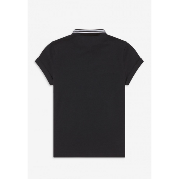 Fred Perry X Amy Winehouse - Black - Polo Shirt