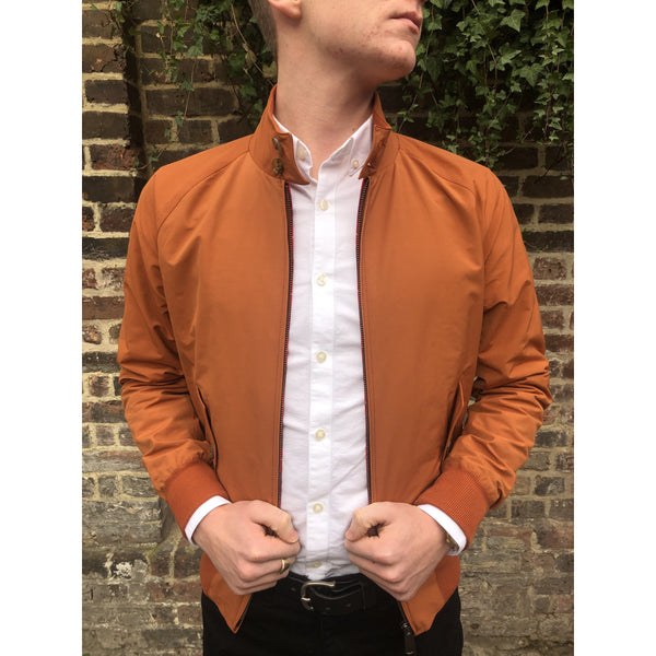 Baracuta - G9 Rust - Modern Classic Harrington Jacket