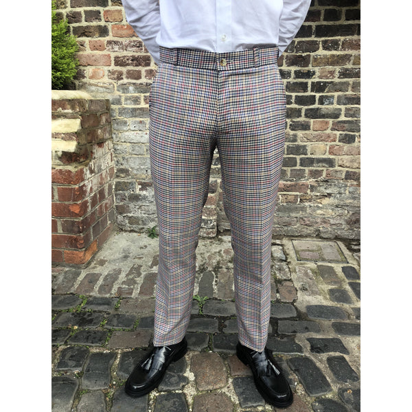 Relco - Multi Tweed Sta Press - Trousers