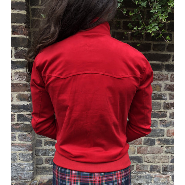 Modfather Clothing - Cherry Red - Women's Harrington