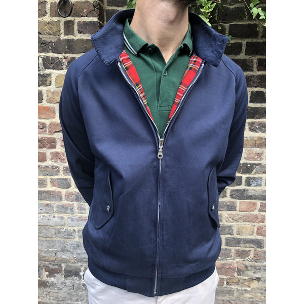 Real Hoxton - Navy - Harrington Jacket