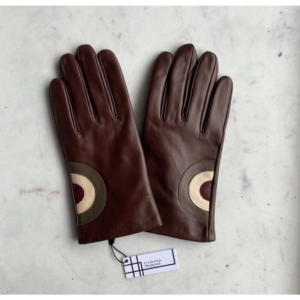 Frederick Sheppard - Men's Brown Leather Mod Target - Gloves