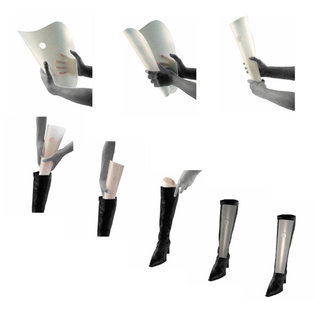 boot shaper booti CLASSIC; booti boot shaper CLASSIC pack of 8 for 4 pairs  of boots