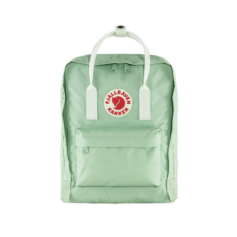 FJALLRAVEN Kånken - Mint Green-Cool White.