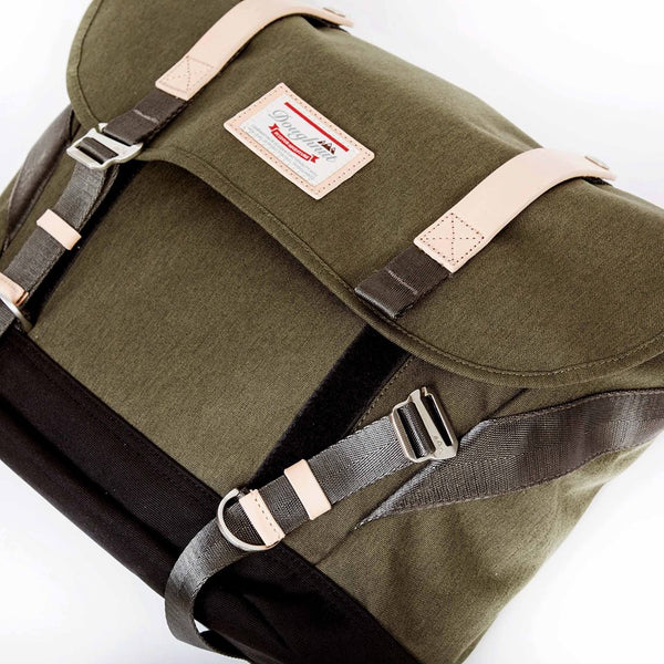 Doughnut Denver Messenger - Army X Black