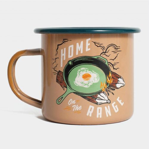 UBB Home On The Range 12oz Enamel Mug
