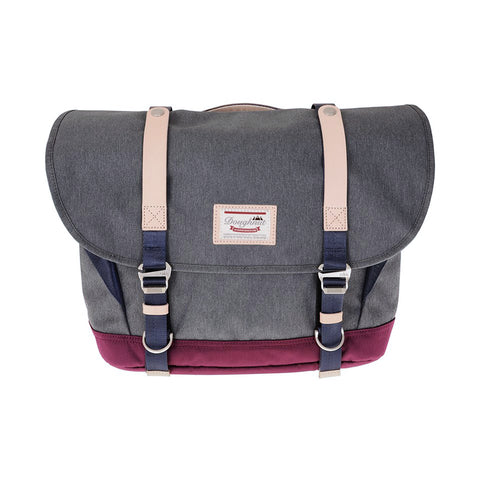 Doughnut Denver Messenger - Grey X Plum