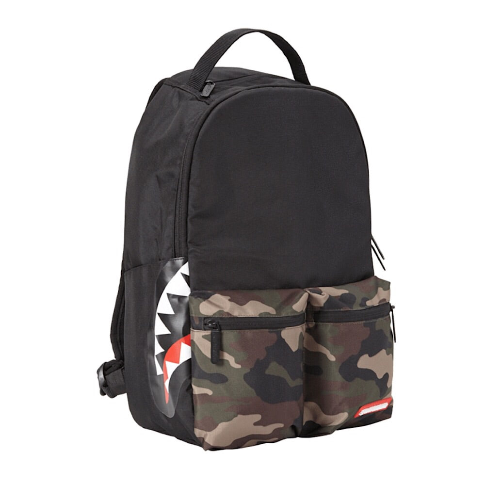 Sprayground - CAMO SIDE SHARK DOUBLE CARGO