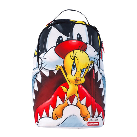 Sprayground - SYLVESTER VS TWEETY (cat eat bird)