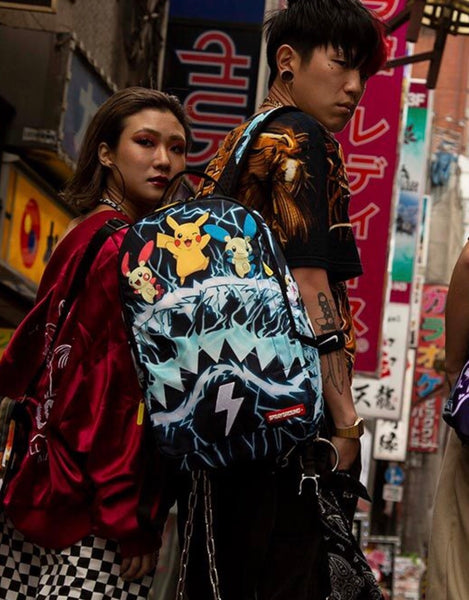 Sprayground - POKEMON ELECTRIC SHARK