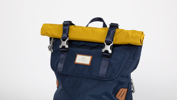 Doughnut Christopher Glossy Blocking - Navy x Mustard