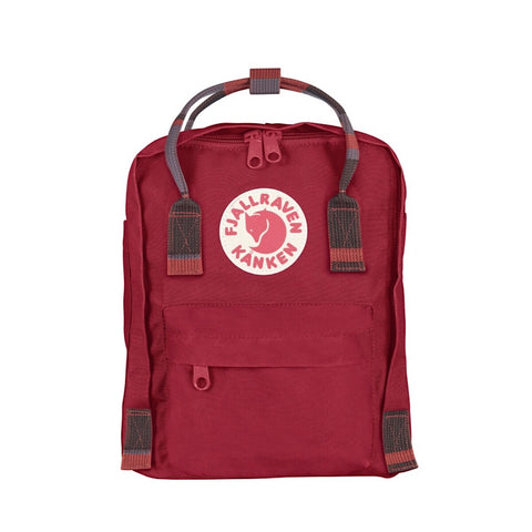 Kanken Mini - Deep Red / Random Black