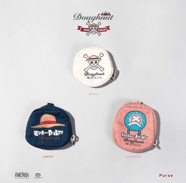Doughnut x One Piece Purse rose