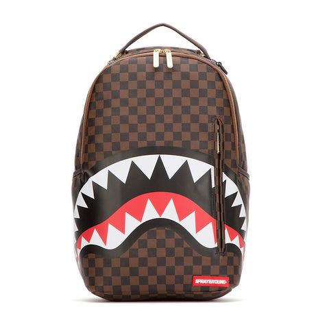 Sprayground - SHARKS IN PARIS BACKPACK GOLD ZIPPER (910B1890NSZ)