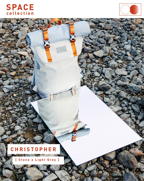 Doughnut Christopher Space Series - Stone x Light Grey