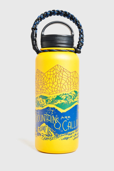UBB Mountain Are Calling 32 oz.Stainless Steel Bottle