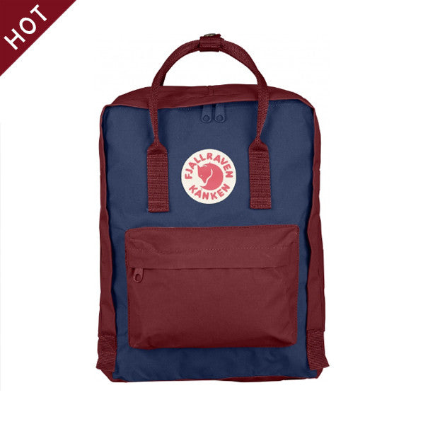 Kanken - Royal Blue x Ox Red
