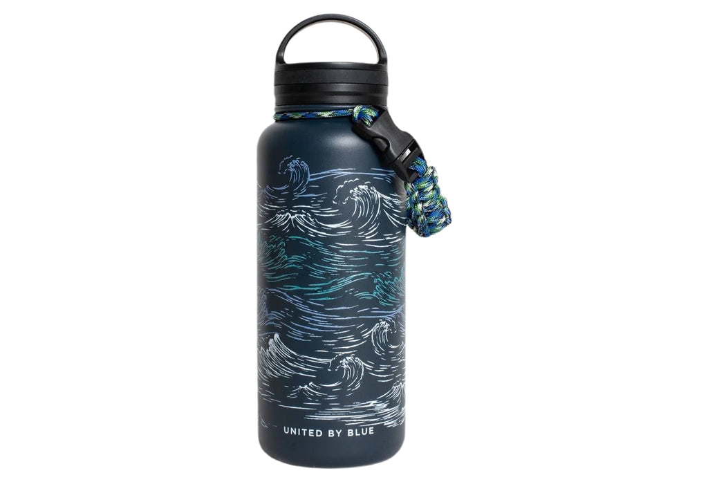 UBB Waves 32 oz.Stainless Steel Bottle