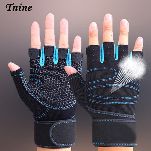 TNINE Body Building Training Fitness WeightLifting Gloves & Mittens For Men Women Workout Fitness Exercise Gym Tactical Gloves