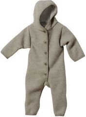 Disana Babies Hooded Snuggle Suit in 100% Felted Organic Merino Wool