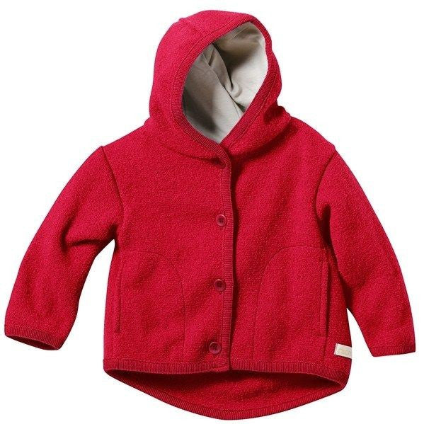 Disana Boiled Wool Jacket - Felted Merino Winter Coat For Baby and Child