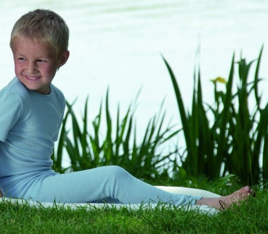 Long Johns Base Layer in Organic Merino Wool / Living Silk