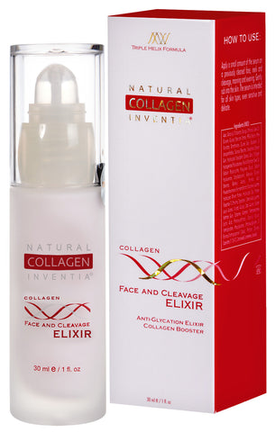 COLLAGEN FACE AND CLEAVAGE ELIXIR 30 ML - Natural Collagen - 1