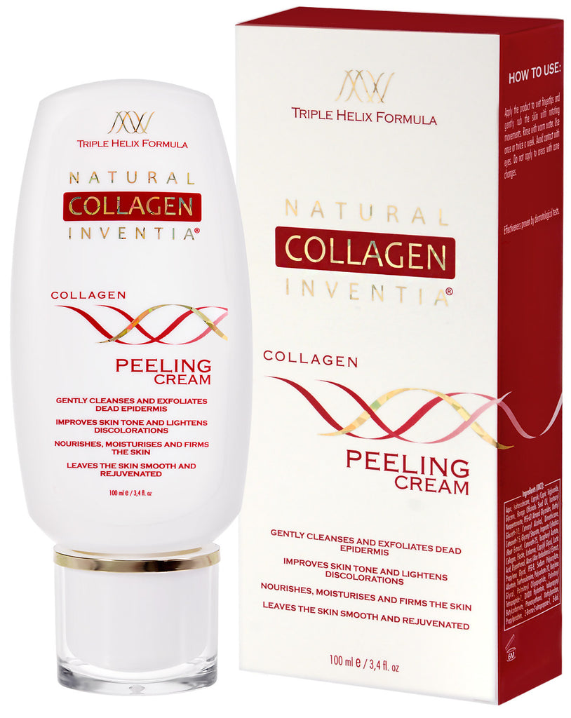 COLLAGEN PEELING CREAM 100 ML - Natural Collagen