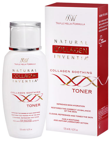 COLLAGEN SOOTHING TONER 125 ML - Natural Collagen