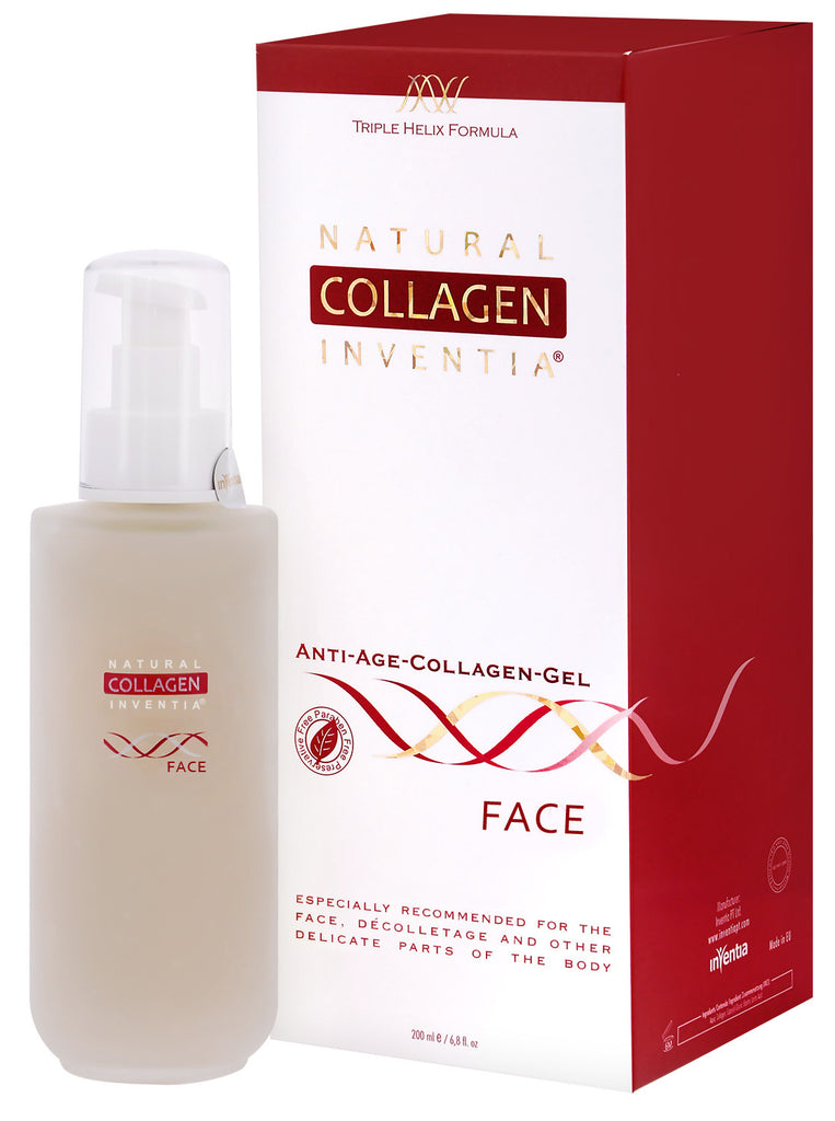 NATURAL ANTI-AGE COLLAGEN GEL FACE 50 – 200 ML - Natural Collagen