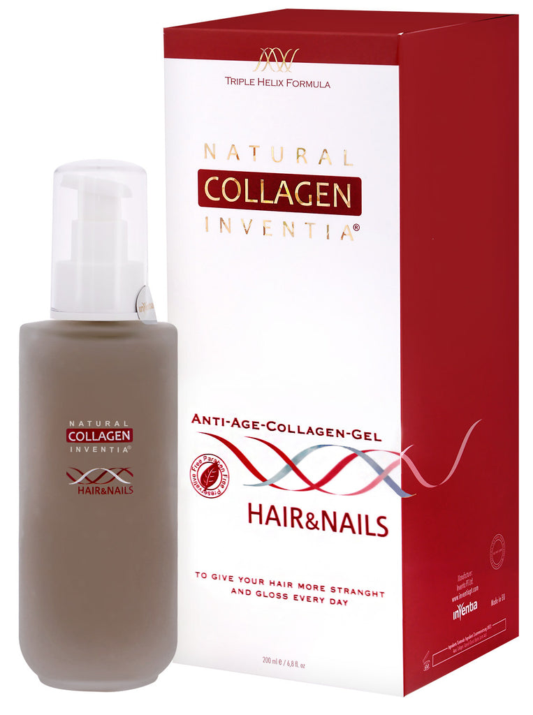 NATURAL ANTI-AGE COLLAGEN GEL HAIR&NAILS 50 – 200 ML - Natural Collagen