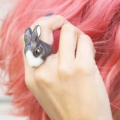 Good After Nine | MOLLY Bunny Rabbit Ring - lucylovesneko