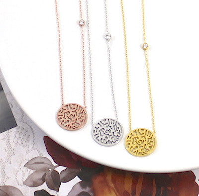 Penny Levi Circle Of Life Necklace - lucylovesneko