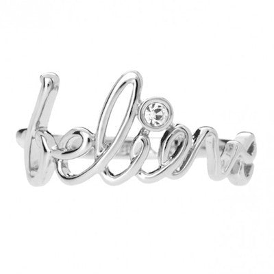 Disney Couture | Believe Message Ring - lucylovesneko - 1