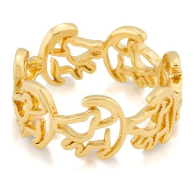 Disney Couture | Lion King Gold Simba Ring - lucylovesneko - 1
