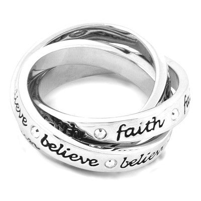 Disney Couture | Faith, Trust, Believe Tinkerbell Ring - lucylovesneko - 3
