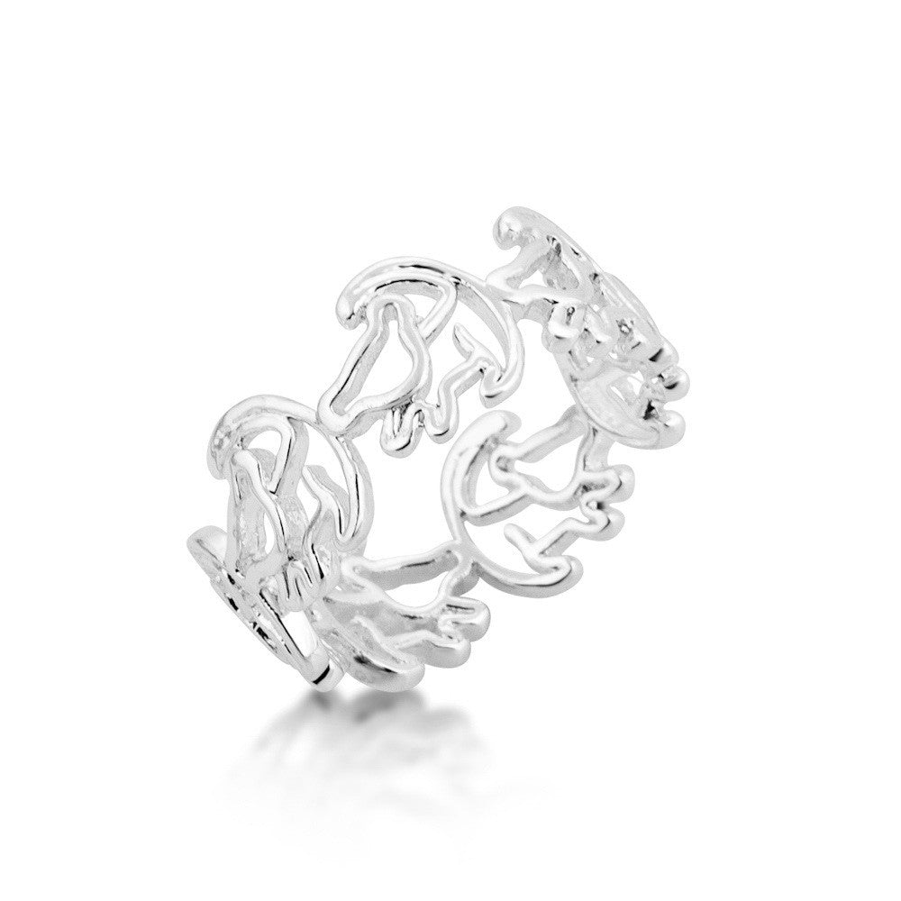 Couture Kingdom | Lion King Silver Simba Ring