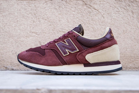 "New Balance 770 Made in UK Suede ""Burgundy/Oatmeal"" M770RBB"