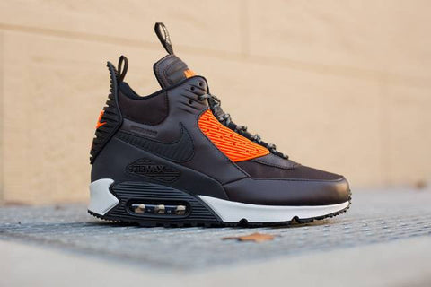 "Nike Air Max 90 SneakerBoot Winter ""Velvet Brn/Blk/Hyp Crim"""