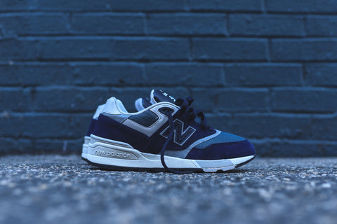 "New Balance 597 ""Blue Black with Orion Blue & Grey"""