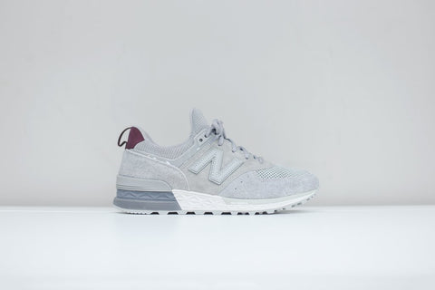 "New Balance 574 Sport Peaks to Streets MS574OF ""Team Away Grey with Nimbus Cloud"""