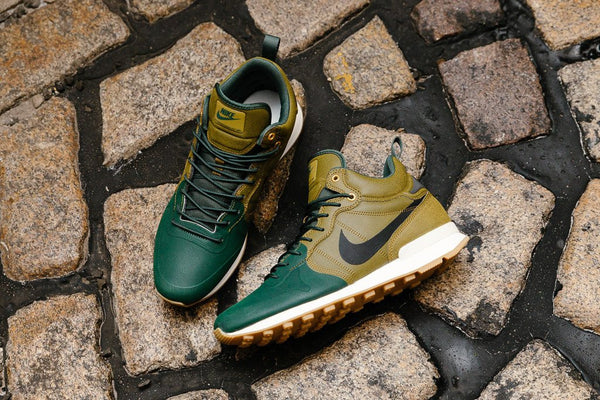 finest selection unique design limited guantity nike internationalist utility olive flax