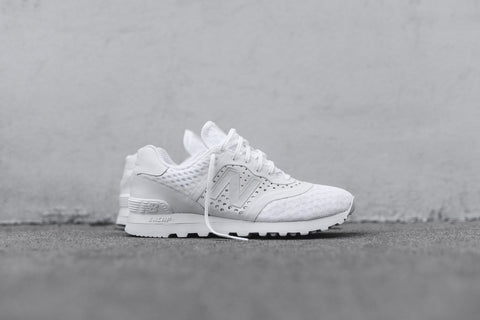 "New Balance 574 Re-Engineered Breathe Solid ""Triple White"""