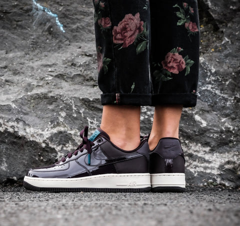 "Womens Nike Air Force 1 ""07 SE The Force Is Female ""Port Wine/Space Blue"" AH6827-600"