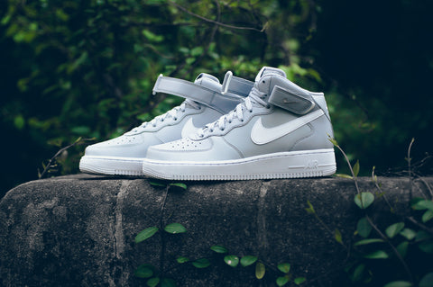 "Nike Air Force 1 Mid '07 ""Wolf Grey/White"""