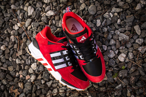 "Adidas EQT Running Support London Marathon 'Red/Core Black/White"" B27660"